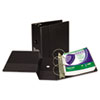 Samsill Samsill® Clean Touch® Locking Round Ring Antimicrobial Protected Binder SAM 14300