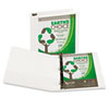 Clean and Green: Samsill® Earth's Choice Biodegradable Angle-D Ring View Binder
