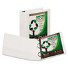 Samsill Samsill® Earth's Choice Biodegradable Angle-D Ring View Binder SAM 16987