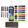 Sanford EXPO® Low-Odor Dry Erase Marker, Eraser and Cleaner Kit SAN80054