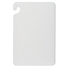 San Jamar Cut-N-Carry® Color Cutting Board SAN CB152012WH