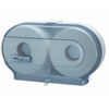 San-jamar-bathroom-tissue-dispensers: Twin Jumbo Roll Bath Tissue Dispenser
