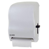 San Jamar Lever Roll Towel Dispenser SAN T1100WH