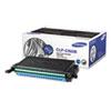 Samsung Samsung CLPC660B High-Yield Toner, 5000 Page-Yield, Cyan SAS CLPC660B