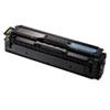 Samsung Samsung CLTC504S Toner, 1800 Page-Yield, Cyan SAS CLTC504S