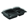 plastic containers: Solo Hinged-Lid Dinner Box