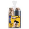 Dart Bistro Hot/Cold Foam Cups with Lids, 12oz, Maroon, 300-Cup & Lids/Carton SCC FSX120029