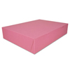 Southern Champion Pink Non-Window Bakery Box SCH 0897
