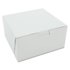 Southern Champion White Non-Window Bakery Box SCH 0905