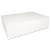 Southern Champion SCT® White Non-Window Bakery Box SCH 1013