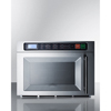 microwave and toaster ovens: Summit Appliance - Dual Magnetron Commercial Microwave, Stainless Steel