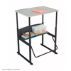 Safco AlphaBetter® Desk, 28 x 20 Standard Top, w/o Book Box SFC 1201BE