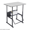 Safco AlphaBetter® Desk, 36 x 24 Premium Top, w/o Book Box SFC 1208GR