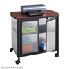 Safco Impromptu®  Deluxe Machine Stand with Doors SFC 1859BL