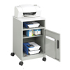 carts and stands: Safco - Steel Machine Stand with Open Storage Compartment