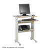 Safco Muv™ Stand-up Adjustable Height Workstation SFC 1929GR
