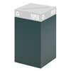Safco Public Square® Recycling Containers SFC 2981GN