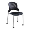 Safco Zippi Plastic Stack Chair SFC 3385BL