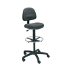 chairs & sofas: Safco - Precision Extended Height Swivel Stool with Adjustable Footring