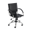 Safco Flaunt™ Series Mid-Back Managers Chair SFC 3456BL