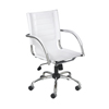Safco Flaunt™ Series Mid-Back Managers Chair SFC 3456WH