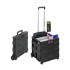 Janitorial Carts, Trucks, and Utility Carts: Safco - STOW AWAY® Crate