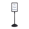 Safco WriteWay™ Double-Sided Dry Erase Standing Message Sign SFC 4117BL