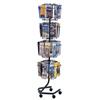 Safco Wire Rotary Display Racks SFC 4128CH