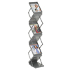 Safco Portable Double-Sided Folding Literature Display SFC 4132GR