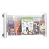 Safco Luxe™ Magazine Rack SFC 4133SL
