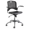 chairs & sofas: Safco - Sassy® Manager Plastic Swivel Chair