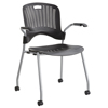 Safco Sassy® Plastic Stack Chair SFC 4183BL