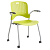 chairs & sofas: Safco - Sassy® Plastic Stack Chair