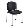 chairs & sofas: Safco - Diaz™ Guest Chair - Black