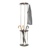 coat rack: Safco - Wood Costumer with Umbrella Stand