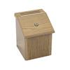 Safco Locking Woodgrain Suggestion Box SFC 4230MO