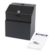 Safco Steel Suggestion/Key Drop Box SFC 4232BL