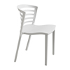 chairs & sofas: Safco - Entourage™ Stack Chair - Grey