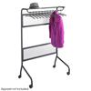 Safco Impromptu™ Garment Rack SFC 4601BL