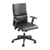 Safco Tuvi™ Executive Mid Back Chair SFC 5071BL