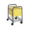 Safco Deskside Letter/Legal Mobile File Cart SFC 5224BL