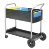Safco Scoot™ Mail Cart SFC 5239BL
