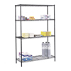 Safco Commercial Wire Shelving SFC 5241BL