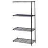 "steel shelving units: Safco - Safco® Add-on Wire Shelf 48"" x 18"""
