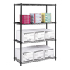 steel shelving units: Safco - Industrial Wire Shelving