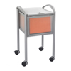 carts and stands: Safco - Impromptu™ Locking File Cart