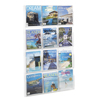 Safco Reveal™ Clear Literature Displays SFC 5602CL