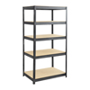 "steel shelving units: Safco - Boltless Steel and Particleboard Shelving 36""x24"""
