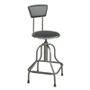 Safco Diesel™ Industrial Stool with Back SFC 6664