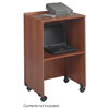 Cake Pie Covers Stands: Safco - Lectern Base/Media Cart